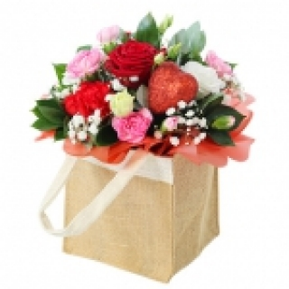 Hearts and Roses from Floralia - the best flower shop in Limerick