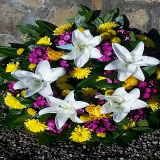 Funeral Wreaths from Floralia - the best flower shop in Limerick